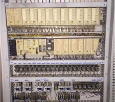 컨베이어 S5 PLC 시스템 XGT PLC로 국산화 개조 작업
