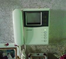 오래된 비디오폰 인터폰으로 교체하기