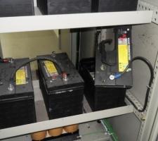 정류기반 배터리 폭발현상