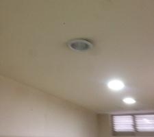 화장실 전등 교체 다운라이트 ->LED 교체 및 격등 분리