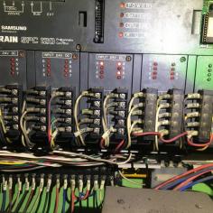 삼성 PLC SPC120 단종모델 XGB 교체 작업 완료