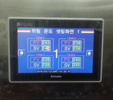 오토닉스 TM2와 터치패널 GP-S070 이용하여 온도 제어구현