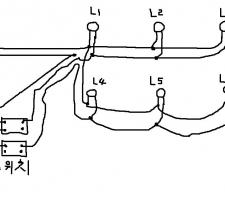 전기 초급자의 전등 결선의 상식