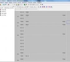 경동500 밴드쏘 PLC 프로그램 백업본 mk120s